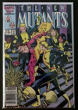 THE NEW MUTANTS #43 MARVEL COMICS 1986 FN NEWSSTAND