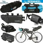 ROSWHEEL Bike Bag Accessories MTB Bag Road Bicycle Cycling Seat Saddle Bag X4L8