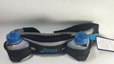 "Asics Hydration Waist Belt Waistpack 2 Bottle Holder Size S fits 26""-34"""