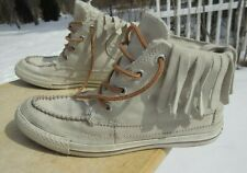 Converse All Star Hi Top Leather Shoe # 532410C / Pre-owned / Us Women 9.5