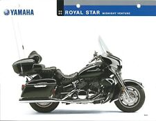 Motorcycle Data Sheet - Yamaha - Royal Star Midnight Venture - 2005 (DC505)