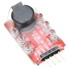 2X(Loudhailer Lipo Batteriespannung Alarmanzeige Checker 2-3S LED-Anzeige ET)
