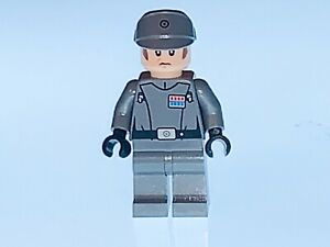 LEGO STAR WARS RARE GENUINE IMPERIAL OFFICER CAPTAIN/COMMANDER FROM 75055 - NEW