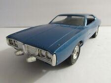 Dealer Promo Model - 1974 DODGE CHARGER BLUE HARDTOP Super rare BLUE!!!