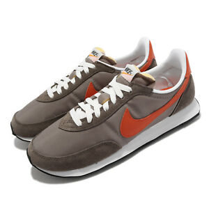 Nike Waffle Trainer 2 Brown Orange Suede Men Unisex Casual Shoes DH1349-002