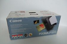 Canon PIXMA iP1800 Photo Printer 4800x1200 dpi 16/20ppm USB PC/Mac 1855B002 NEW