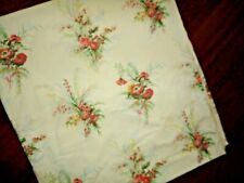Vintage Yellow Floral Pillowcase Set  Standard Size  Sears Roebuck  Easy Care