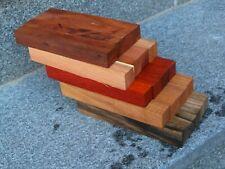 Set aus 5 versch. Holzarten Pen Blanks 20 Stück Kugelschreiberrohlinge