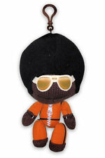 Little Big Planet Plush Keychain Marvin/Afro Sackboy Black Man Stuffed Toy PS