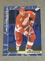 Brendan Shanahan Detroit Red Wings 2000-01 BAP Signature Series Sapphire 79/100