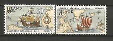 Cept / Europa   1992    Island      **