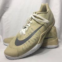 Nike Hyperlive Men's Size 18 Basketball Shoes Gold Athletic Sneakers 2015