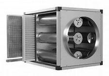 Luftreinigungsanlage Aktivkohlefilter + 2 Vorfilter  Filterleistung 5.000 m³/h