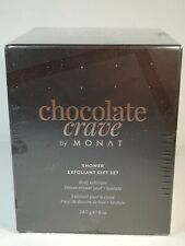 NEW MONAT CHOCOLATE CRAVE BATH SHOWER EXFOLIANT