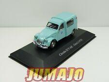 SER2G 1/43 SALVAT Vehiculos Servicios :  Citroën 3CV AK entel 1970 (telecom)