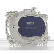 Hey Diddle Diddle Nursery Rhyme Silver Plated Photo Frame Baby Christening 54441
