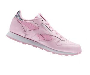 Reebok BS8972 Classic Junior Schuhe Sneaker Turnschuhe Kinder Mädchen Echtleder