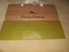 """TOMMY BAHAMA empty paper gift shopping BAG Large size 15""""X11.5""""X5"""" at the base"""