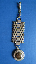 ANTIQUE VICTORIAN POCKET WATCH FOB with STONE