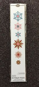 Free P&P Sizzix Winter Elements Die cutter, Sizzlits Snowflakes Winter
