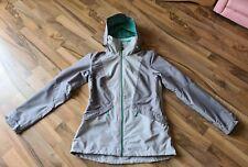 Quechua ladies jacket in grey mint green size medium