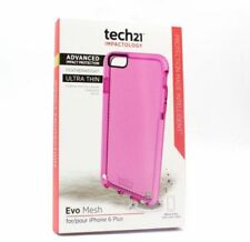 Tech21 Evo Maya Fino Peso Pluma Carcasa Funda para Iphone 6 Plus / 6s - Rosa
