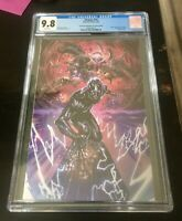 Thanos #15 4th Print Virgin CGC 9.8 Silver Surfer