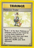 POKEMON • Scambio di Pokemon Pokemon Trader 77/102 BASE SET NM