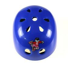 Blue Skateboard Roller Blade Safety Helmet Protective gear for Child sports raci