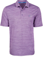 Attack Life by Greg Norman Men's 5 Iron Space Dye Golf Polo Size S