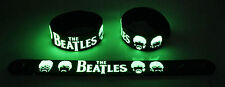 The Beatles NEW! Glow in the Dark Rubber Bracelet Wristband Words Of Love gg186