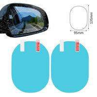 2X Sticker Anti Fog Car Mirror Window Clear Film Protect Film Waterproof Sticker