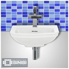BRICK Rectangular Glass Mosaic Tiles Bathrooms Kitchens Wall Floors SALE! 4B-115