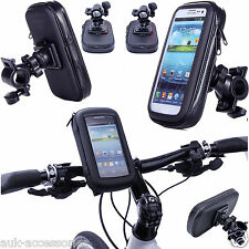 360 Waterproof Bike Bicycle Handlebar Mount Holder Phone Rotate Case Cover Pouch