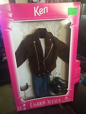 Barbie Fashion Avenue Ken Motorcycle Jacket Outfit 1995 (Mattel #14677)