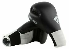 adidas ADIH100 Hybrid 16oz Boxing Training Gloves - White