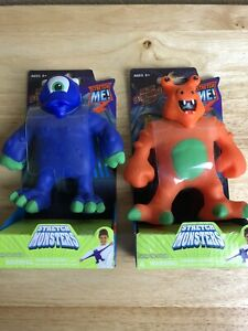 STRETCH MONSTERS Pulldor & Xtendar Orange & Blue by Magic Time  NEW! (F)