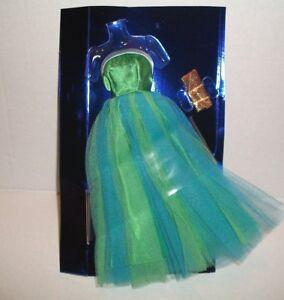 Vintage BARBIE #951 SENIOR PROM DRESS & GOLD PURSE 1964 REPRO REPRODUCTION NOC