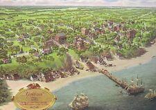 Yorktown 1781, Virginia Port, Colonial National Historic Park, Siege -- Postcard