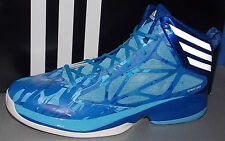 MENS ADIDAS CRAZY FAST in colors BLUE / RUNNING WHITE / ROYAL SIZE 10