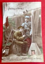 CPA. FRÈRES D'ARMES. BROTHERS IN ARMS. Guerre 1914-1918