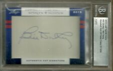 2012 Leaf Sports Icons Bill Dickey/Bill Terry Dual Cut Signature Card #5/5