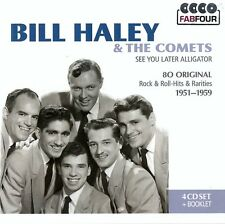 BILL HALEY & THE COMETS : SEE YOU LATER ALLIGATOR / 4 CD SET - TOP-ZUSTAND