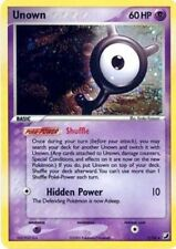 POKEMON UNOWN Y/28 HOLOFOIL (EX UNSEEN FORCES)