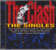 THE CLASH - THE SINGLES - CD - NEW