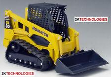 JOAL 40084 Komatsu CK30-1 Compact Tracked Loader Yellow 1/25 Scale New Boxed