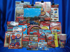 Cars Party Set # 49 McQueen Party Supplies HUGE SET for 24  Favors HUGE SET
