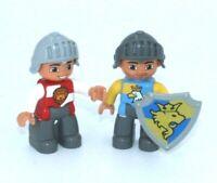 Custom Figur Black Falcon Ritter 1 aus LEGO® Figuren Teilen