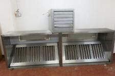 More details for extraction canopy and fan with built in lights 300cm x 100cm x 50cm, hardly used