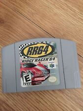 Ridge Racer 64 Nintendo 64 Game Cart Good Works BA5